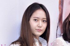 f(x)'s Krystal and Sulli Attend Etude House Product Launching Event