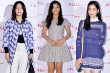 Jung Hye Young, Kim Yoo Jung and Lee Yoo Bi Attend Jill by Jillstuart Pop-Up Store Opening Event