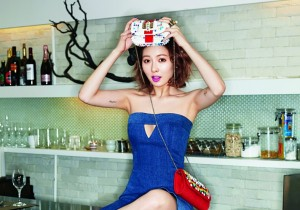 4Minute HyunA is Sexy for Cosmopolitan February Issue