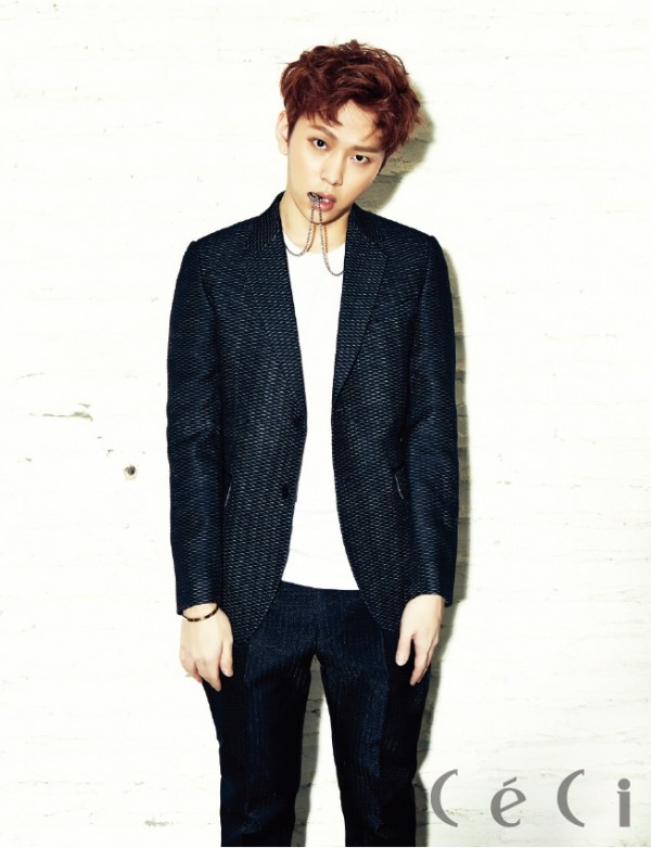 BEAST's Yong Jun Hyung - Ceci Magazine March Issus 2014key=>2 count7