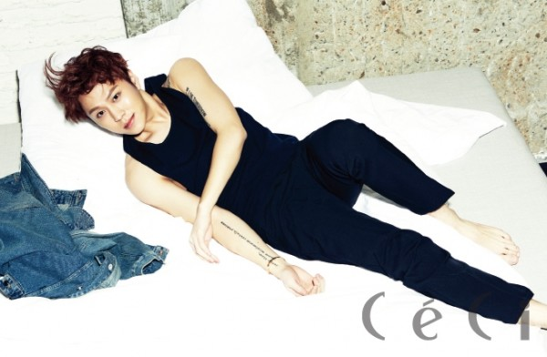 BEAST's Yong Jun Hyung - Ceci Magazine March Issus 2014key=>3 count7