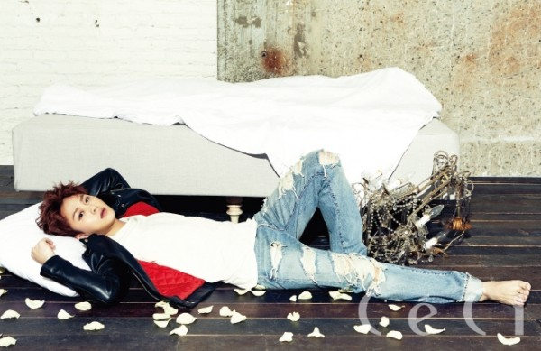 BEAST's Yong Jun Hyung - Ceci Magazine March Issus 2014key=>4 count7