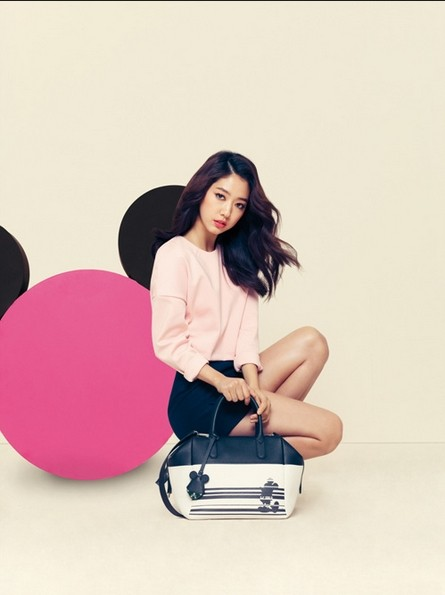 Park Shin Hye Models Bruno Magli's 2014 S/S Disney Purse Collectionkey=>2 count6
