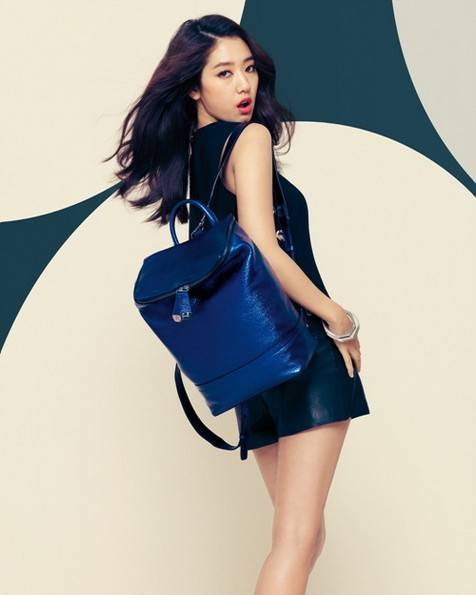Park Shin Hye Models Bruno Magli's 2014 S/S Disney Purse Collectionkey=>5 count6