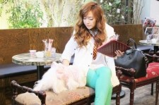 Girls' Generation Jessica's Behind the Scenes Photos from 'Coming Step Dazed & Confused' Photos