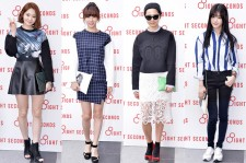 Kang Min Kyung, Kim Chorogn, Kim Na Young and Lee Yoo Bi Attend 8ight Seconds Grand Opening Event