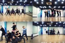 "BTOB Releases ""Beep Beep"" Dance Rehearsal Video"
