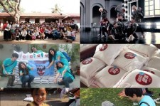 Fans In Cambodia Hold Rice Donation Project Under BTOB's Name