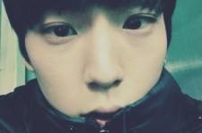 B.A.P Him Chan Reveals Close-Up Selfie Thanking Fans