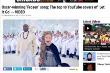 Son Seung Yeon's Cover Of 'Let It Go' Ranked In 'Top 10' Of U.S. Entertainment Weekly