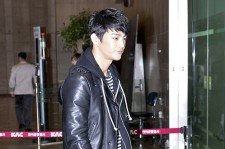Seo In Guk Departed from the Gimpo Internation Airport to Japan