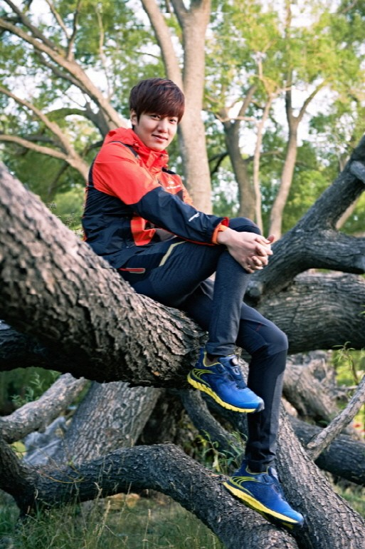 Lee Min Ho at Eider 2014 S/S CF Shootingkey=>3 count10