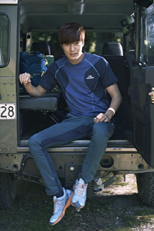 Lee Min Ho at Eider 2014 S/S CF Shootingkey=>4 count10