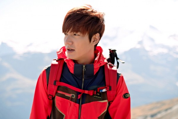 Lee Min Ho at Eider 2014 S/S CF Shootingkey=>8 count10
