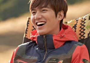 Lee Min Ho at Eider 2014 S/S CF Shooting
