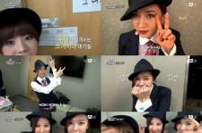 In Girls' Generation's Dressing Room