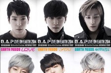 B.A.P To Hold 'LIVE ON EARTH 2014' Tour In 4 Countries And Hold 20 Concerts