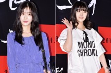 Lee Yoo Bi and Rainbow's Jung Yoon Hye Attend the VIP Premiere of Upcoming Film 'Monster'