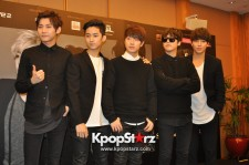 F.T. Island At Press Conference, Cheerly And Excited For 2014 FTISLAND 6th Anniversary [FTHX] Live In Singapore [PHOTOS]