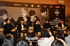 Multi-talented Korean Rock Band F.T. Island Meets Singapore Media; Shares Upcoming Album Incorporate Their Ideas And Musical Tastes!