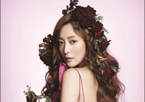 Kim Hee Sun Goddess of Flower in Allure Magazine