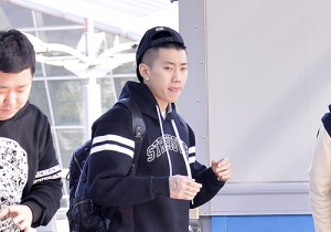 Jay Park at ICN Airport To Attend SXSW 'K-Pop Night Out' Showcase Event