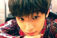 btob lim hyunsik morning self-camera