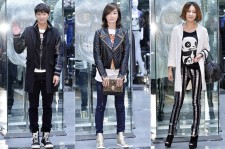Lee Sang Yeob, Oh Yeon Soo and Yoo Ho Jung and  Attedns Philipp Plein S/S 2014 Collection