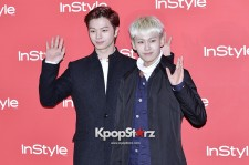 BtoB Attends The Instyle Charity Bazaar Event