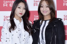 Sistar Attends Samsonite 2014 S/S 'Be My Red' Event