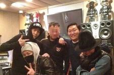 psy,taeyang,g-dragon and teddy