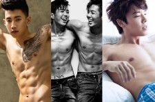 Jay Park, Tasty, and Donghae have glorious bodies with voices to match.