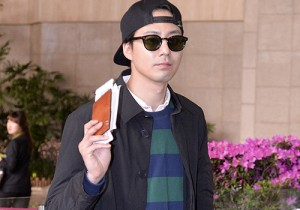 Jo In Sung at Gimpo Airport Heading to Japan for Fan Meeting