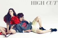 Krystal-LeeJongSuk, Complete Transformation From 'Ahn Siblings'