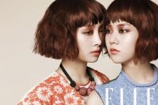 Nicole-Han Seungyeon Twin Photo Shoot
