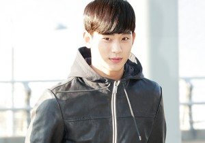 Kim Soo Hyun at Incheon Airport Heading to Taiwan for 1st Fan Meeting