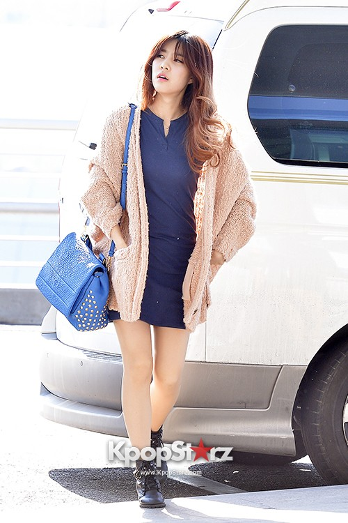 Rainbow at Incheon Airport Heading to Shanghai, Chaina to Perform at Arirang TVkey=>8 count41