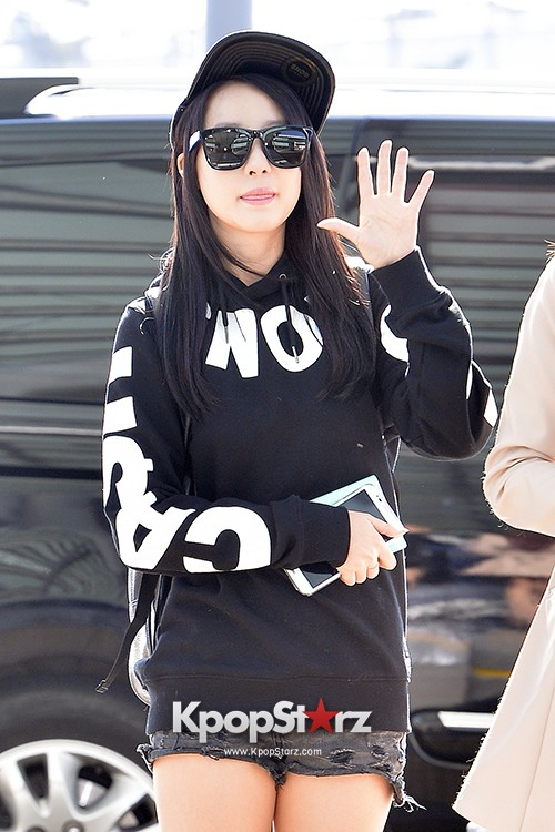 Rainbow at Incheon Airport Heading to Shanghai, Chaina to Perform at Arirang TVkey=>11 count41