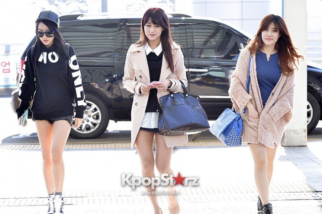 Rainbow at Incheon Airport Heading to Shanghai, Chaina to Perform at Arirang TVkey=>12 count41