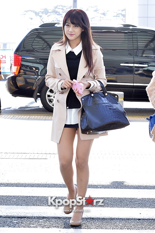 Rainbow at Incheon Airport Heading to Shanghai, Chaina to Perform at Arirang TVkey=>15 count41