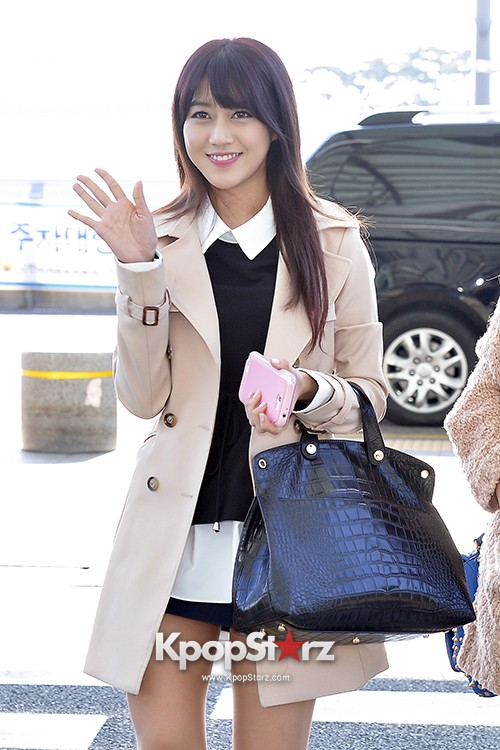Rainbow at Incheon Airport Heading to Shanghai, Chaina to Perform at Arirang TVkey=>19 count41