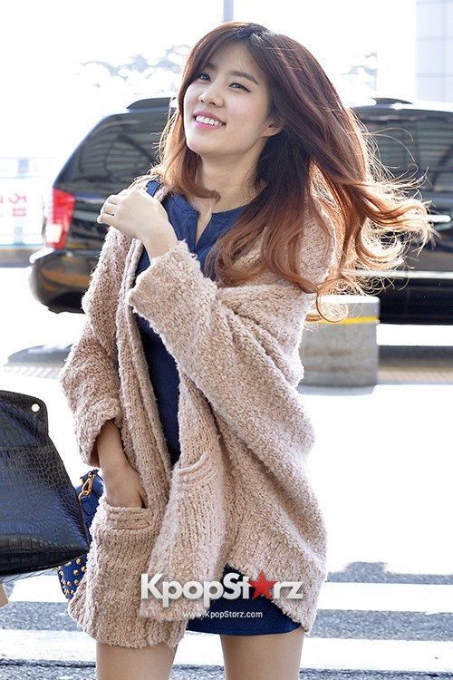 Rainbow at Incheon Airport Heading to Shanghai, Chaina to Perform at Arirang TVkey=>20 count41