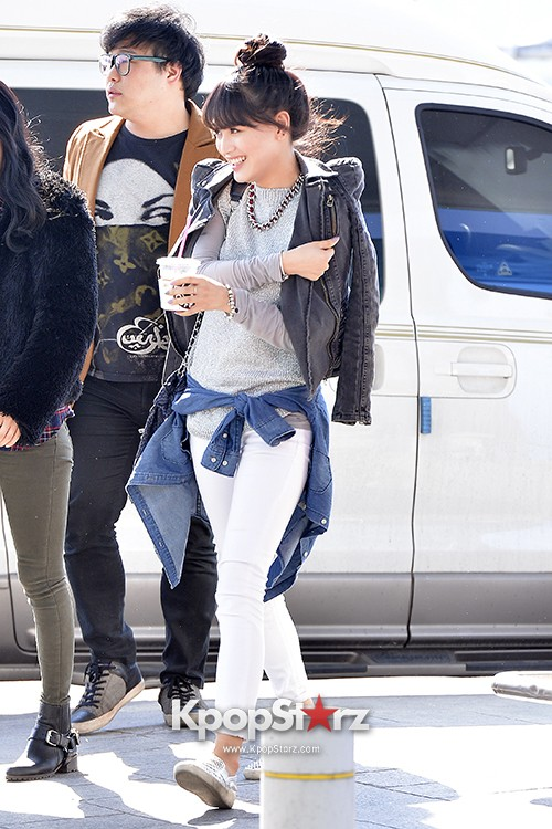 Rainbow at Incheon Airport Heading to Shanghai, Chaina to Perform at Arirang TVkey=>25 count41
