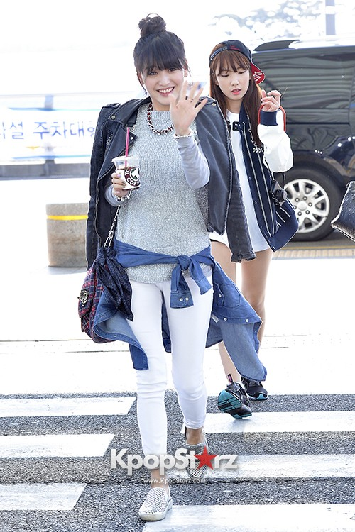 Rainbow at Incheon Airport Heading to Shanghai, Chaina to Perform at Arirang TVkey=>28 count41