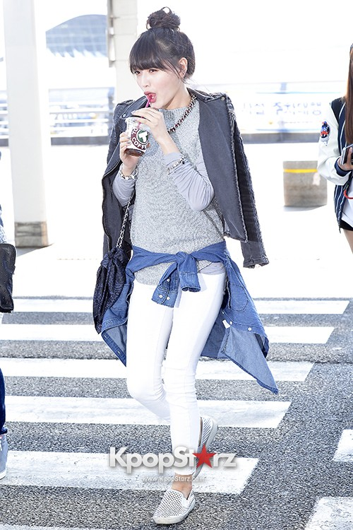 Rainbow at Incheon Airport Heading to Shanghai, Chaina to Perform at Arirang TVkey=>29 count41