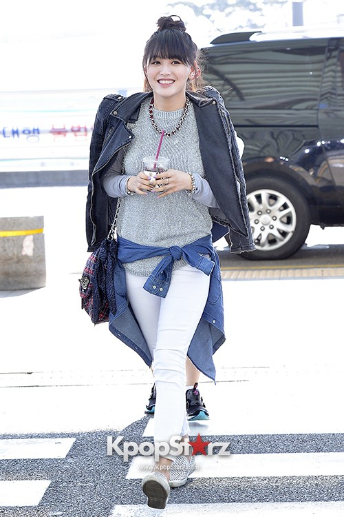 Rainbow at Incheon Airport Heading to Shanghai, Chaina to Perform at Arirang TVkey=>31 count41