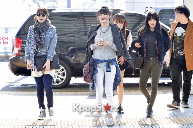 Rainbow at Incheon Airport Heading to Shanghai, Chaina to Perform at Arirang TVkey=>33 count41