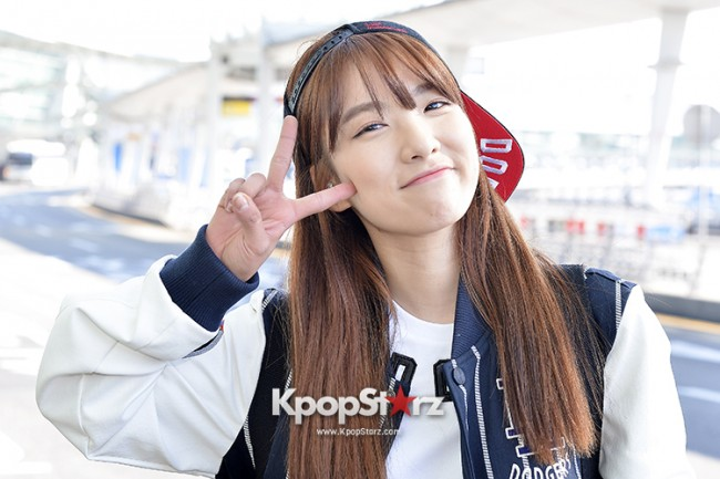 Rainbow at Incheon Airport Heading to Shanghai, Chaina to Perform at Arirang TVkey=>40 count41