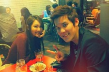 Joo Ah-min and Park Tae-hwan