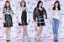 Gong Hyo Jin, Son Dam Bi, Lee Hye Young, Chae Jung Ahn Attend Lucky Style 'Lucky Chouette' 2014 F/W Collection